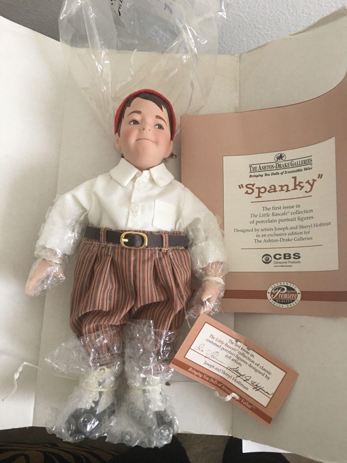 Figura De Porcelana Spanky la pequeña granujas Ashton Drake Galleries