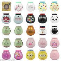 Pot Of Dreams Ceramic Money Box Pots Savings Fund Save Coins Piggy Bank Novelty