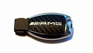 Mercedes-W164-ML-AMG-SL-500-R230-W211-W212-W207-Carbon-key-sticker-silver-AMG