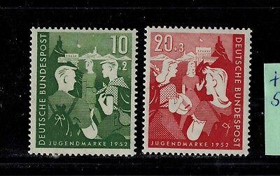 FleißIg Bundesrepublik Deutschland 153-154 ** Tief Geprüft Schlegel Bundesjugendplan üBereinstimmung In Farbe Deutschland