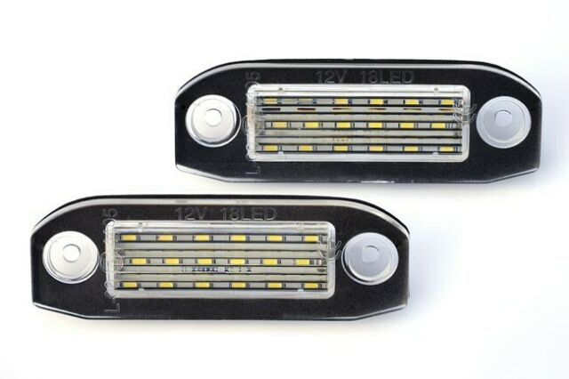 For Volvo C30 XC60 XC70 XC90 S40 S60 LED License Number Plate Light Lamp Modul