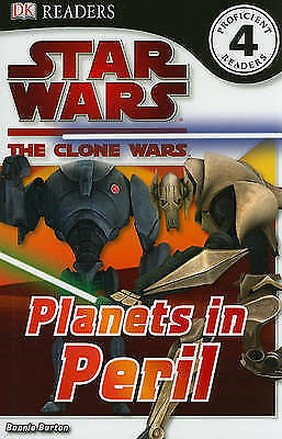 1 of 1 - DK Reader: Level 4: Star Wars: Clone Wars: Planets in Peril (DK-ExLibrary