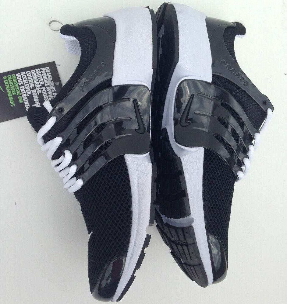separation shoes 4d27b 22893 ... Nike Air Presto Noir Homme Tailles 6-11 Baskets Baskets Baskets  Chaussures De Course Baskets ...