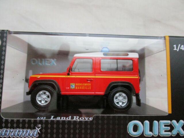 Oliex Land Rover Defender Frame short Bmpm Fire Marseille 1/43