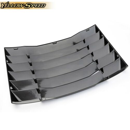 Rear Window Windshield Louvers Cover Sun Shade For 2016-2019 chevy Camaro ABS
