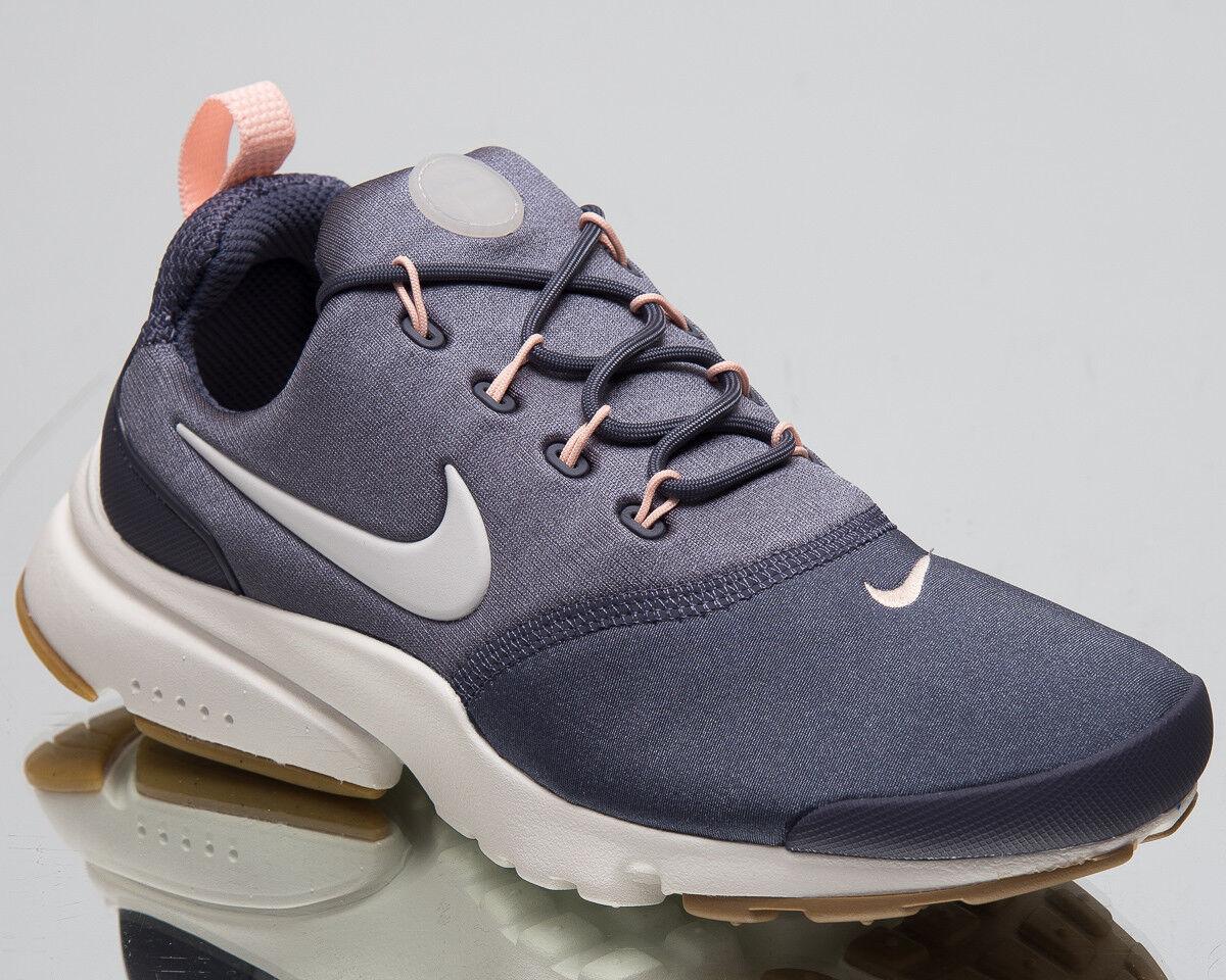 Nike Damen Presto Fliege Lifestyle Schuhe Hell Kohlen Weiß Turnschuhe 910569-012