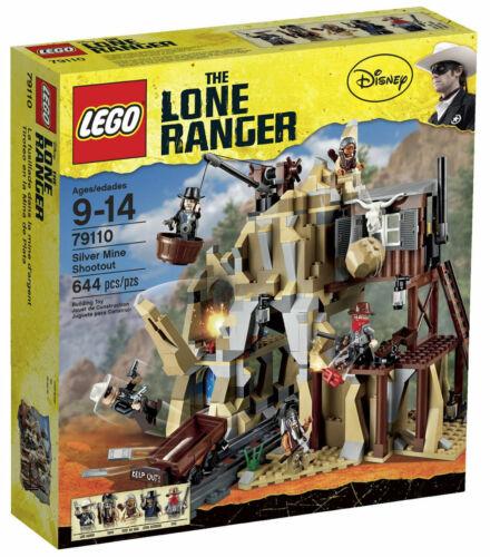 LEGO 79110 Lone Ranger Silver Mine Shootout  cowboy western HOU TX retiredNISB