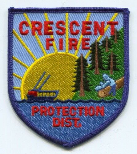 Crescent Fire Protection District Patch California CA