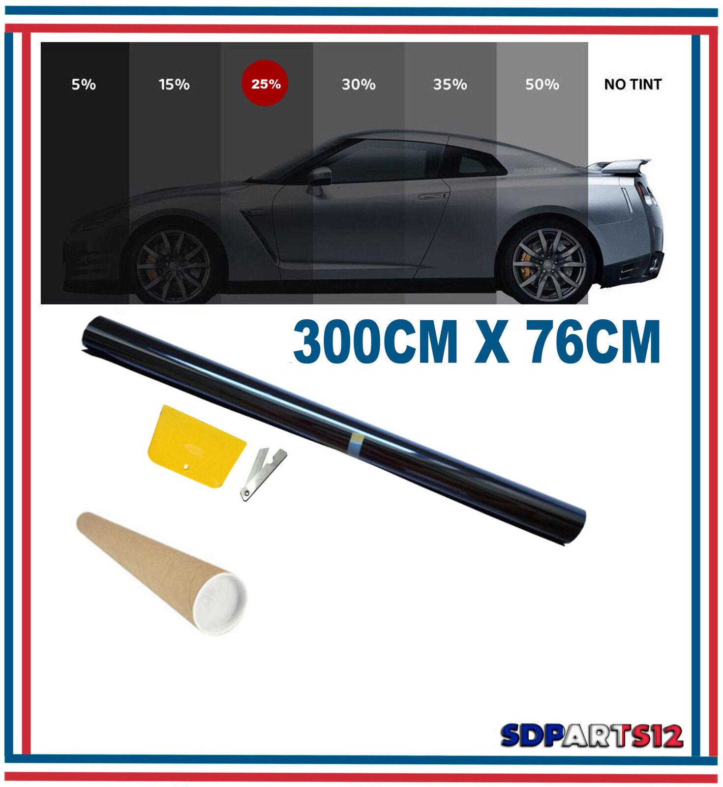 Carpoint 2660040 Film pour Vitres Limo Noir 3/% 300 X 50Cm