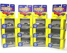 12 1999 Johnny Lightning Aurora Thunderjet Style Slot Car MailAway Chrome BODIES