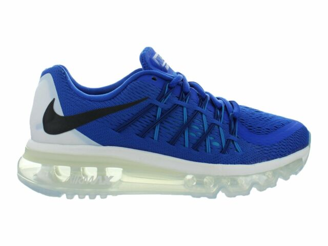 57039a18ac Nike Air Max 2015 GS Game Royal Black White Blue Lagoon 705457-401 ...