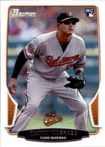 2013 Bowman #215 MANNY MACHADO RC Rookie Baltimore Orioles