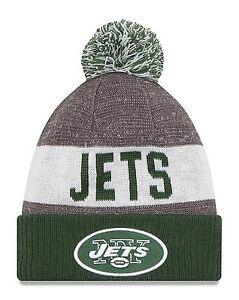 NY-Jets-Cuffed-Beanie-Knit-Winter-Cap-Hat-NFL-Authentic-New-Era