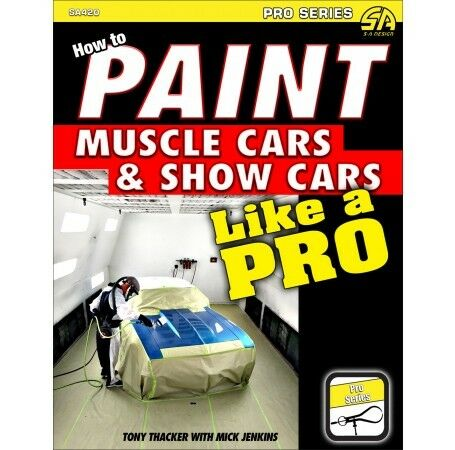 Do Show Quality Exotic Paint Job on Your Car Like a Pro Guide Manual Book SA420