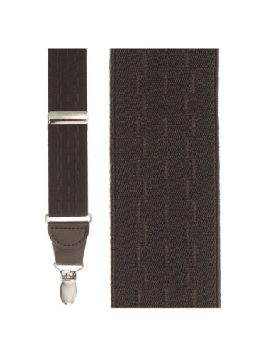 Brown New Wave Suspenders