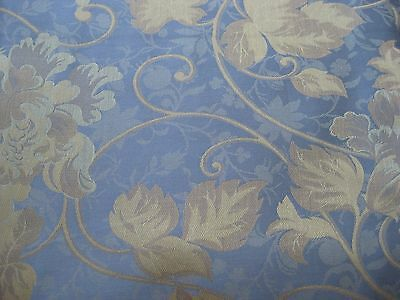 Blue Green 540TC Jacquard Woven Twin Floral Duvet Cover from Portugal Luxury NEW