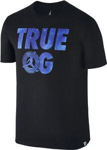 Nike-AIR-JORDAN-RETRO-11-TRUE-OG-Men-039-s-T-Shirt-Black-801577-010