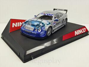 Scx-Scalextric-Slot-Ninco-50235-Mercedes-CLK-18-DTM-D2-Originale-Cerbiatti