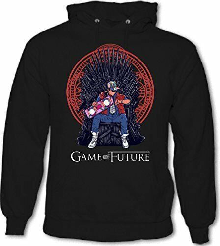 Game of Future Parody Back to the Thrones Mens Funny Hoodie