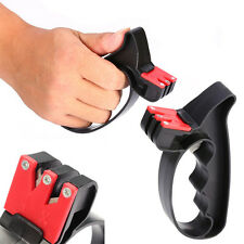 Perfect Professional 2 in 1 Handheld Scissors Knife Blade Cutter Sharpener Tools