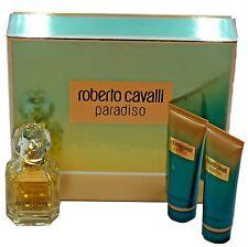 ROBERTO CAVALLI PARADISO 3PC GIFT SET EAU DE PARFUM SPRAY 75ML (NIB-111050)