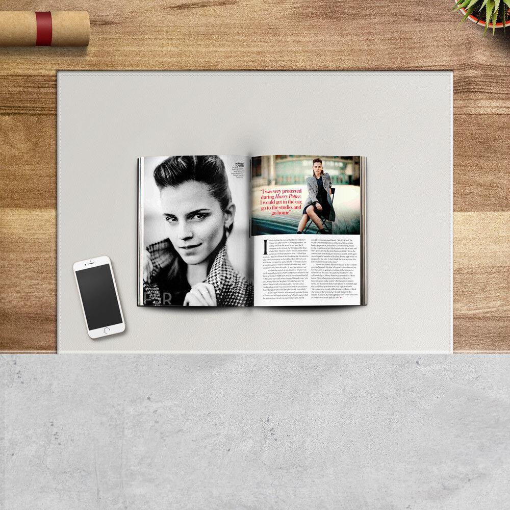 Schreibunterlage aus Leder Beige Gleitschutz mit Aufbau aus Stahl cm 70x50 | Verschiedene aktuelle Designs  | Am wirtschaftlichsten  | Angenehmes Gefühl