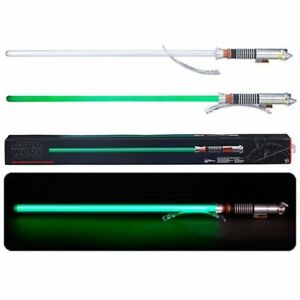 Star-Wars-NEW-Luke-Skywalker-Lightsaber-Green-Black-Series-Force-FX-ROTJ