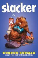 Slacker by Gordon Korman (2016, Hardcover) NEW