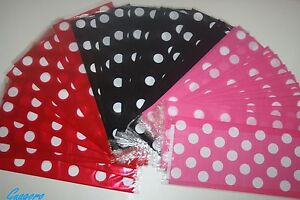 20-Mickey-Minnie-Polka-Dots-Favor-Bags-Treat-pinata-Sacks-Birthday-Party-Supply