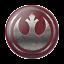 Star-Wars-Rebel-Icon-PopSockets-PopGrip-Universal-Phone-Grip-Holder thumbnail 1