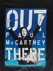 Paul McCartney Out There 50th Anniversary Beatles Rock Music Tour T-Shirt SF LA