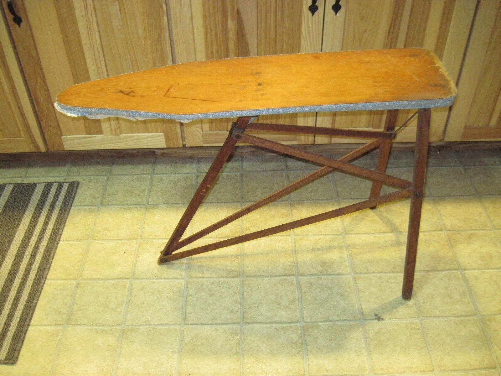 Antigüedades, juguetes infantiles, planchas, OVB usa Wood, nuestra mejor mesa, mesa, mesa, Saginaw mi. d33