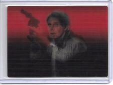 Carbonite Star Wars Evolution 2016 Blue Parallel Card #43 Han Solo