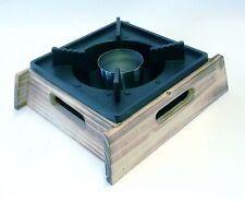 Shabu Shabu Pot Stand Warmer Fuel Holder + 22.5cm Black Pot