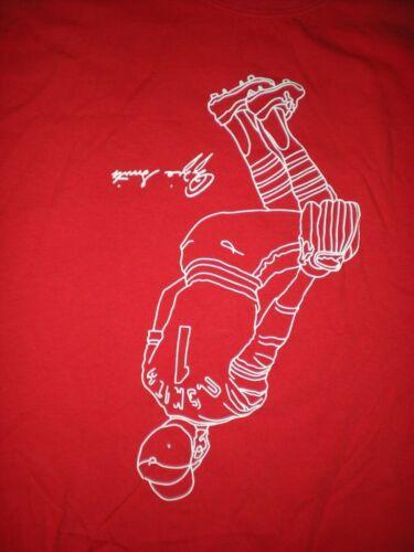 Vintage Ozzie Smith Famous Backflip shirt St Louis