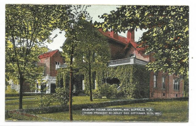 BUFFALO NEW YORK Rustic Milburn House Delaware Ave where President McKinley died