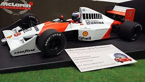 F1 Mclaren Mp4/5b Berger 1/18 Minichamps 530901828 Voiture Miniature Collection