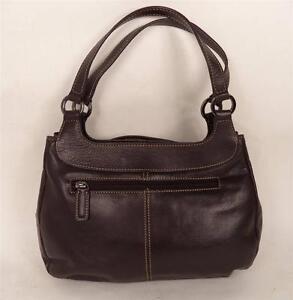 Image Is Loading Jane Shilton Brown Leather Handbag Bag