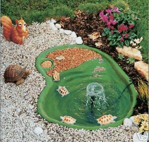 laghetto termoformato per tartarughe piante pesci cm