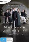 Murdoch Mysteries : Series 1-10 (DVD, 2017, 45-Disc Set)