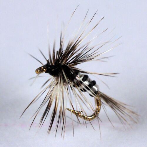 Midge Micro Flies 6 COLOURS trout by Dragonflies size options 20,22,24