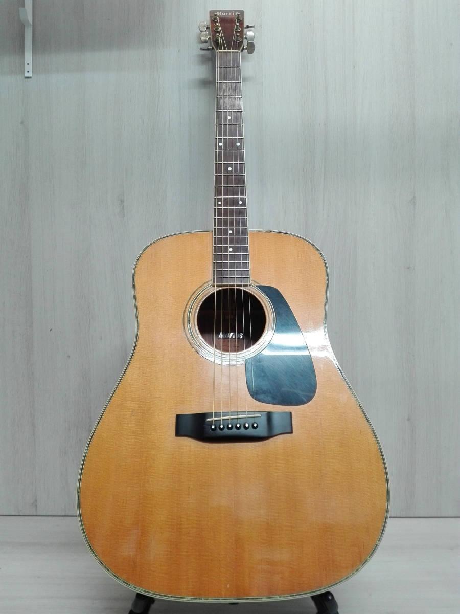 Morris MD-515 acoustic guitar rare beutiful JAPAN EMS F S