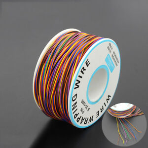 KF-250m-30AWG-Copper-Wire-Wrapping-Cable-Insulation-Test-Cable-Line-0-25mm-He