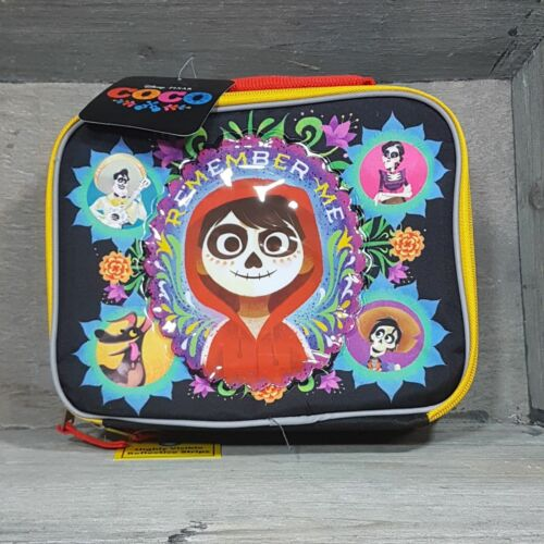 "Disney Pixar Harry Potter COCO /""Remember Me/"" insulated lunchbox cooler box"