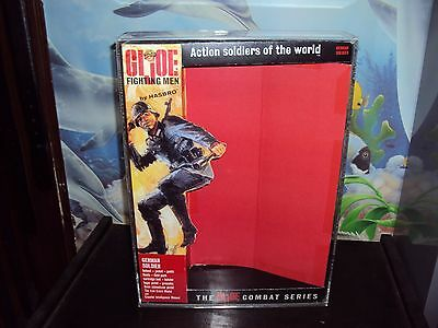 GI JOE CARDED VINTAGE UNIFORM SETS THIS SALE IS FOR ACRYLIC CASES ONLY NO TOYS
