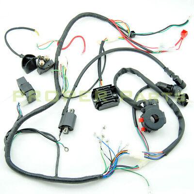lifan 200cc atv wiring complete electrics atv quad 250cc 200cc cdi wiring harness  atv quad 250cc 200cc cdi wiring harness