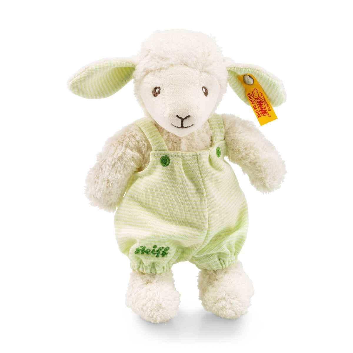 New Steiff Luxury Lenny LAMB Baby Sheep + Steiff Gift Box 237393 Teddy Bear