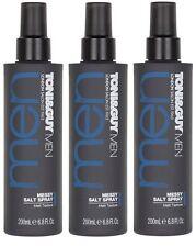 3 x 200ml Toni&Guy Men Messy Sea Salt Spray for Matt Texture - Toni & Guy