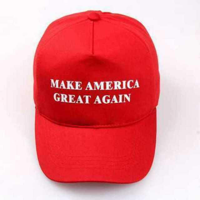 Hot Cotton Donald Trump Hat Red Cap 2016 Republican Make America Great Again