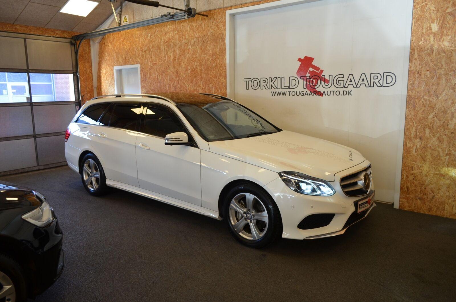 Mercedes E350 3,0 BlueTEC AMG Line stc. aut. 4-M 5d - 399.800 kr.
